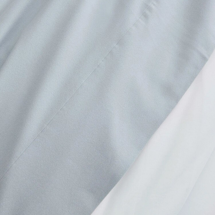 Boll & Branch Flannel Solid Sheet Set - Shore