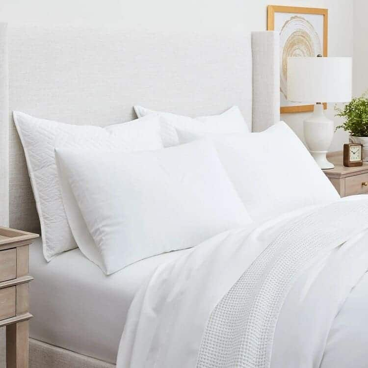 Boll & Branch Flannel Solid Sheet Set - White