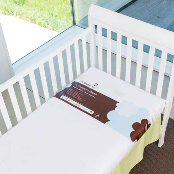 Naturepedic Lightweight Organic Cotton Classic Crib Mattress