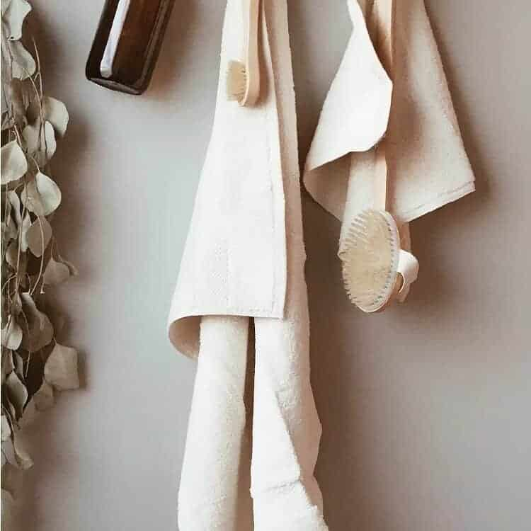 Boll & Branch Plush Bath Towel Set - Natural
