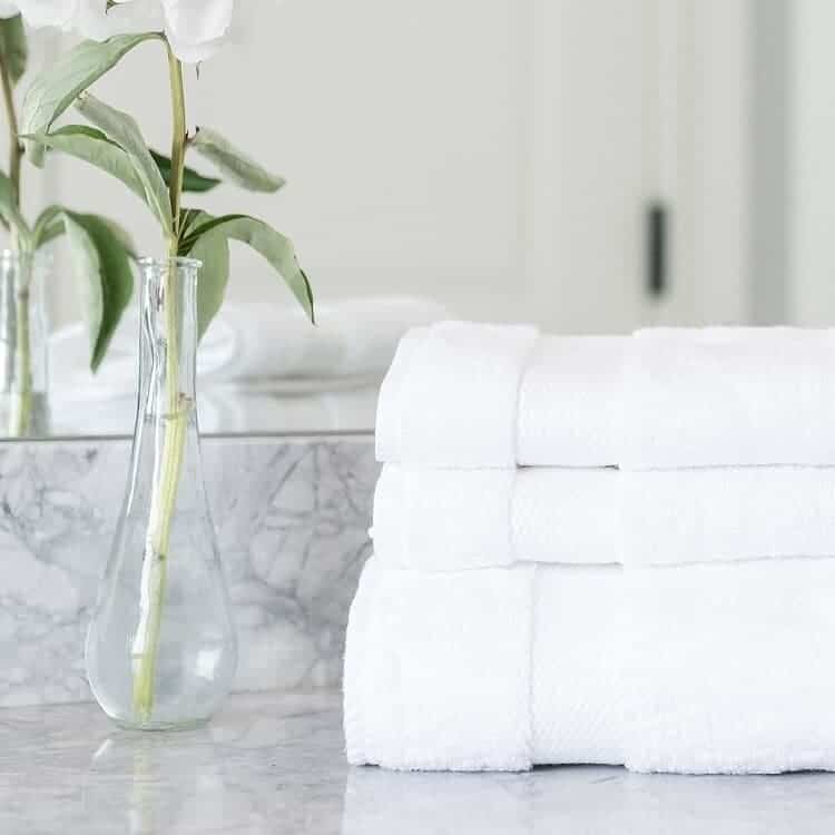 Boll & Branch Plush Washcloths - White